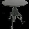 T005 industrieel gietijzeren tafel van quip&Co