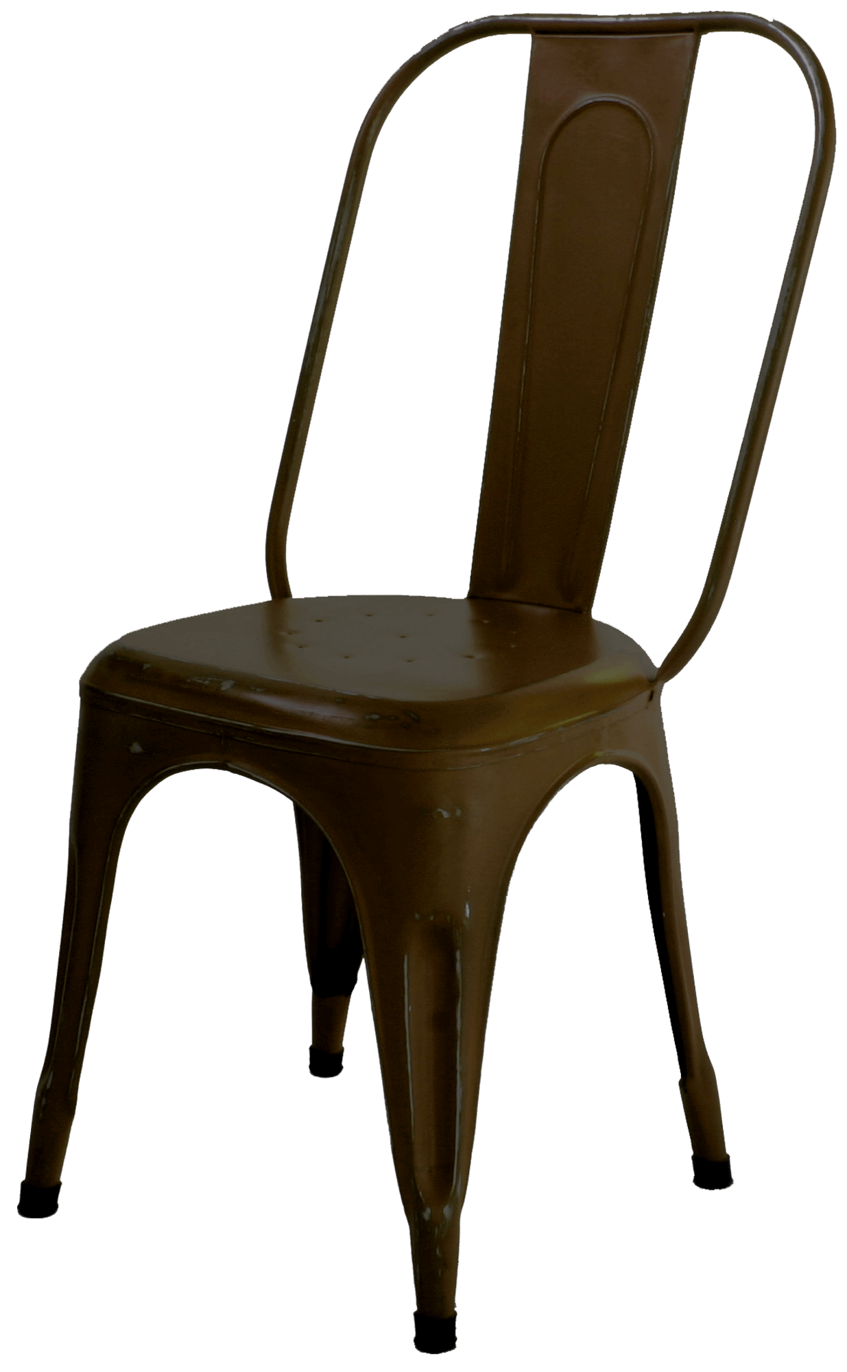 Industriële eetkamerstoel met vintage look naar Tolix