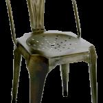 Industriële bistrostoel met vintage look naar Tolix