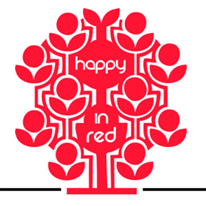 Happy in Red logo