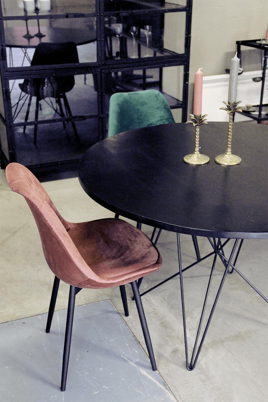 Ongekend Ronde eettafel met industrieel design - quip&Co Industriële meubelen LU-18